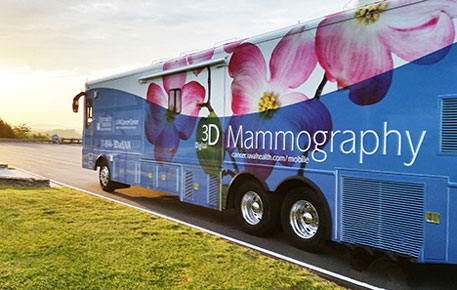 mobile mammography van