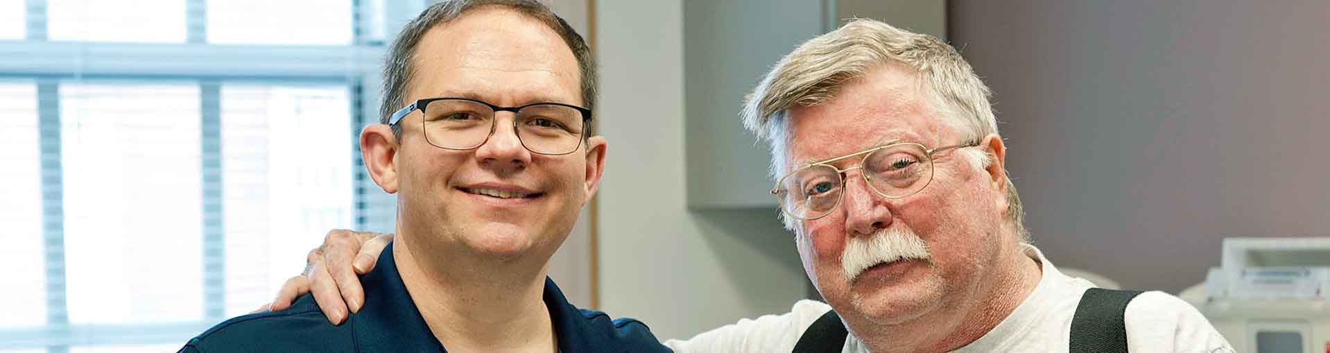 A lung transplant at UVA saved this man from a life with COPD.