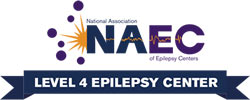 The National Association of Epilepsy Centers logo.