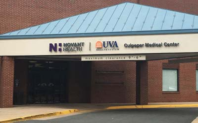 Novant Health UVA Health System Culpeper Medical Center