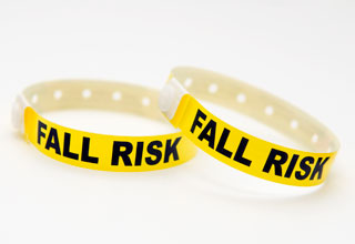 fall risk wrist bands