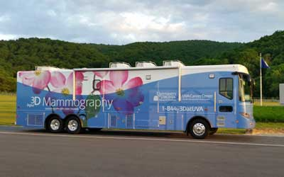Mobile Mammography Coach