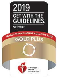 Get with the Guidelines Gold Plus award logo