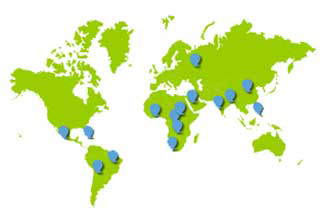 uva telemedicine global map